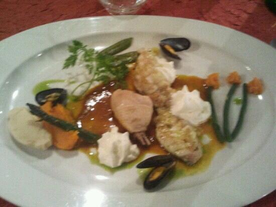 Baudroie picture of la table d 39 emilie marseillan - Restaurant la table d emilie marseillan ...