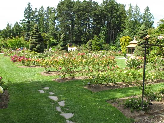 Woodland Park and Rose Garden
