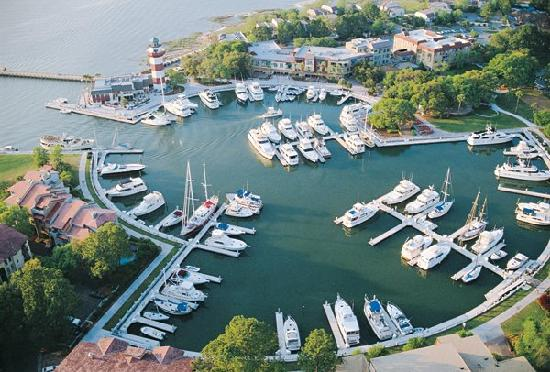 Harbour Town At Sea Pines Resort In Hilton Head Island South Carolina
