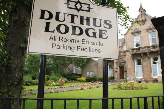Duthus Lodge: Front
