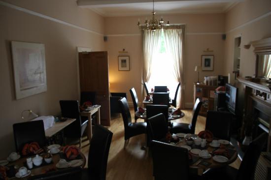 Duthus Lodge: Breakfast Room