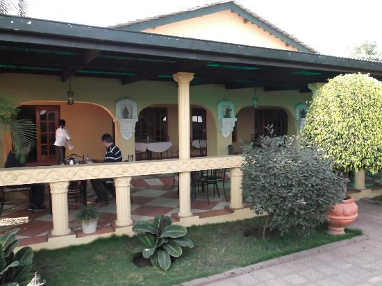 Chabanga Lodge: Restaurant Area