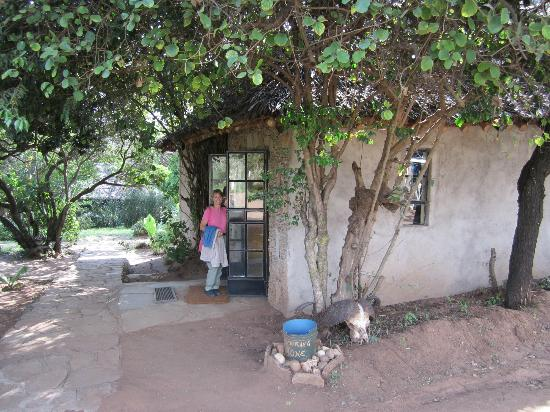 Ol-moran Tented Camp: Entrance