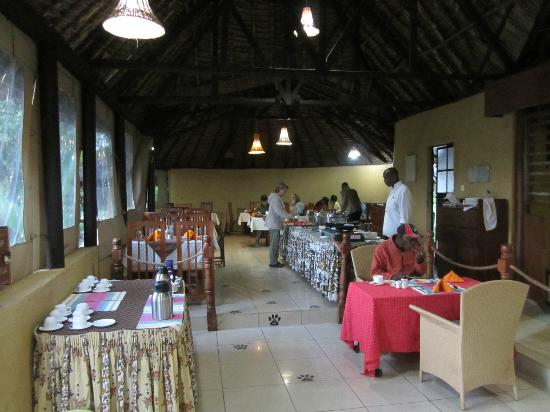 Ol-moran Tented Camp: Dining area