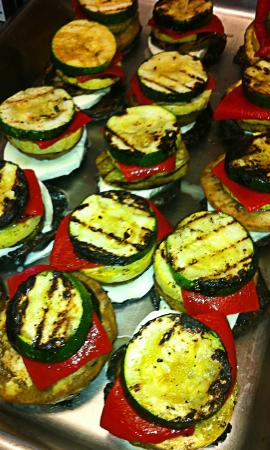 Truffles Bakery and Kitchen: Vegetable Napoleons...