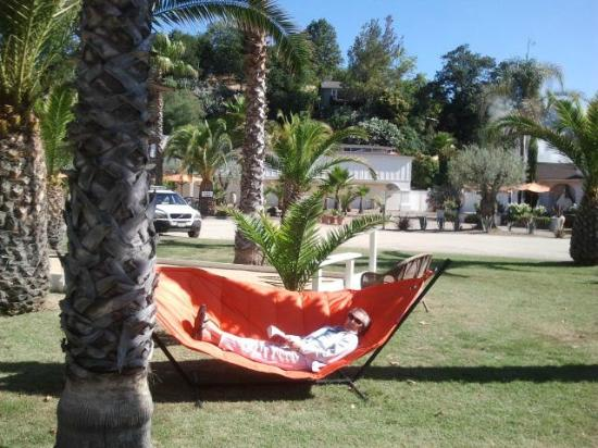 Indian Springs Resort and Spa: Fatboy Hammock