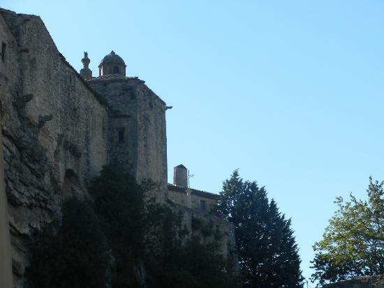 Le Moulin a Huile: vue de la terrasse