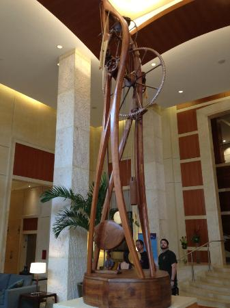 The Westin Alexandria: Lobby clock