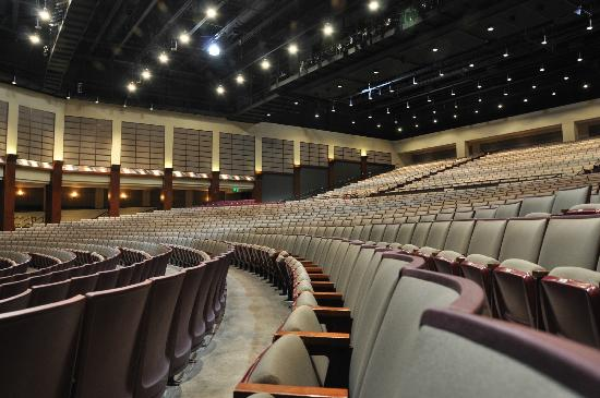 Charleston Area Convention Center : Performing Arts Center seating for 2,300
