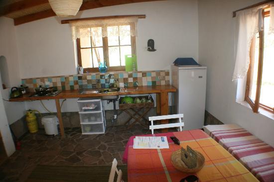 Rancho Quitapenas: Kitchen