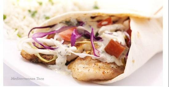 Taziki's Mediterranean Cafe: Mediterranean Taco