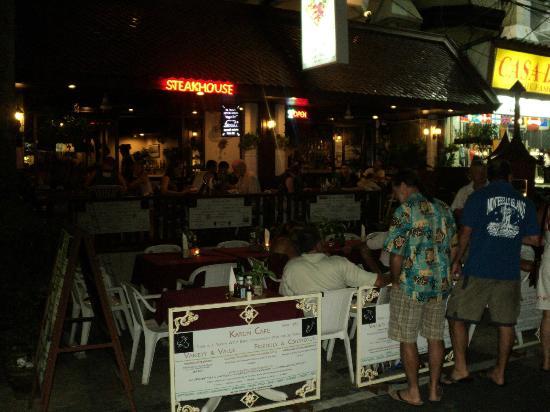 Karon Cafe Steakhouse & Thai Cuisine: Holiday with familiy to Hilton Karon Cafe Steak house Phuket