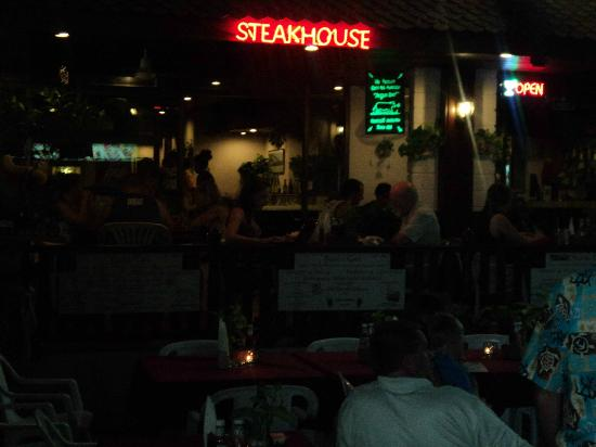 Karon Cafe Steakhouse & Thai Cuisine: Holiday with familiy to Hilton Karon Cafe Steak house Phuket
