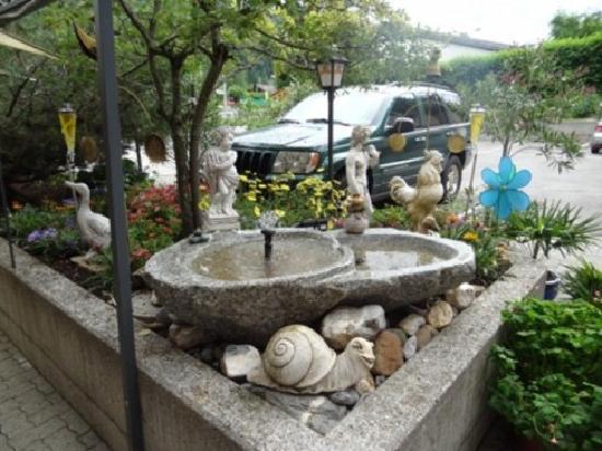 Alpenhotel Residence: Garten