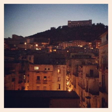 Sui Tetti di Napoli: Nighttime view from my private terrace