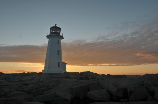 Peggy's Cove Bed & Breakfast : Peggy's COve Lighthouse