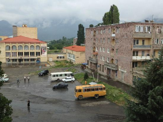 Alaverdi, Armenia: View from the hotel