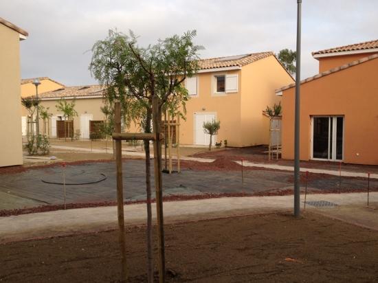 Les Demeures Torrellanes: pas de jardin comme prevu !
