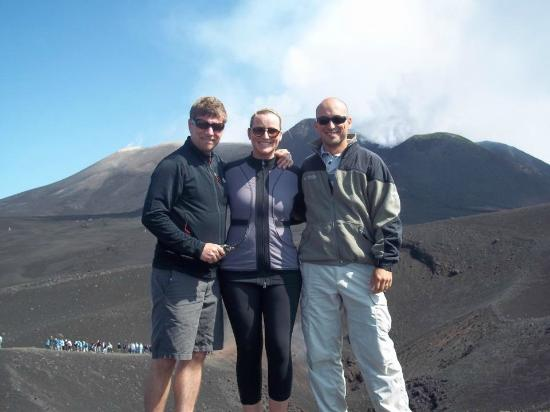 Continente Sicilia: On top of Mt. Etna with Davide