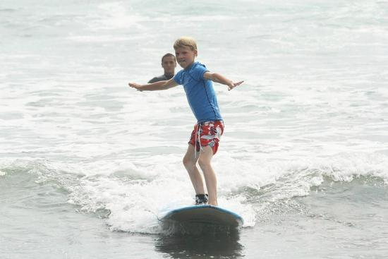 Del Mar Surfing Academy : No matter how young you are, you can always learn to surf.