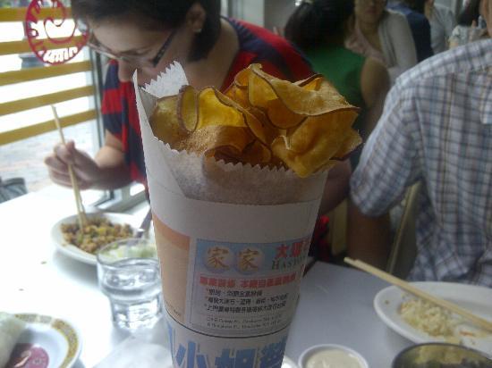 Myers + Chang: Sweet Potato Chips