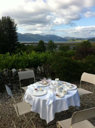 Airds Hotel & Restaurant: fine afternoon tea