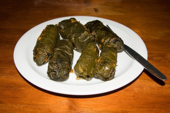 The Ocean Sizzler : Dolmades