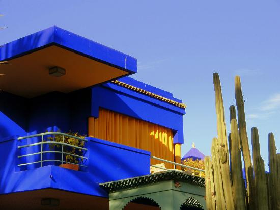 villa majorelle picture of jardin majorelle marrakech tripadvisor. Black Bedroom Furniture Sets. Home Design Ideas