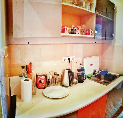 Pumba Hostel: Little kitchen