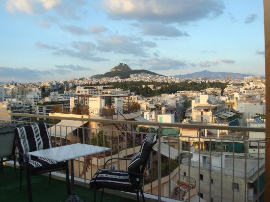 BEST WESTERN Acropolis Ami Boutique Hotel: acropolis view from top floor