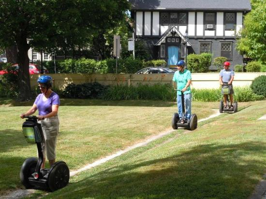 Seacoast Segway Tours: Our first ride on a Segway