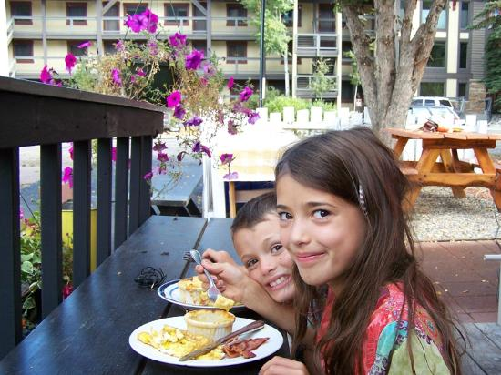 Kids meals at Sweet Pea Market and Restaurant too!