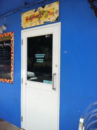 Heather's: front door