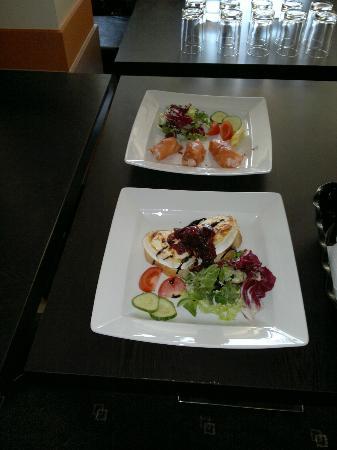 JJ's Brasserie: 2 of the starters