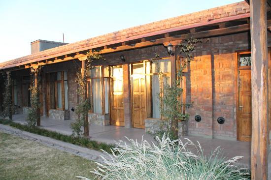 Posada El Encuentro: Vista del patio interno
