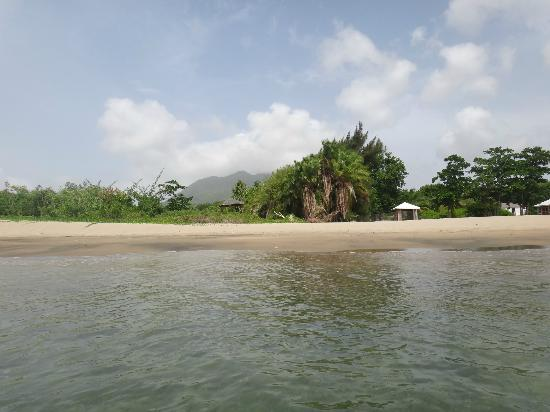 Montpelier Plantation & Beach: View of private beach from water