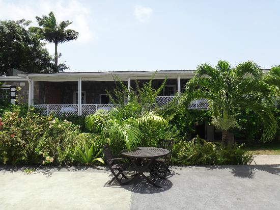 Montpelier Plantation & Beach: View of the main building