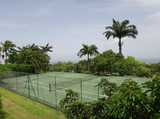 Montpelier Plantation & Beach: Tennis court