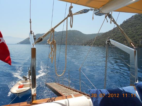 Turkish Mediterranean Coast, Turkey: Archaeological gulet cruises in Turkey.