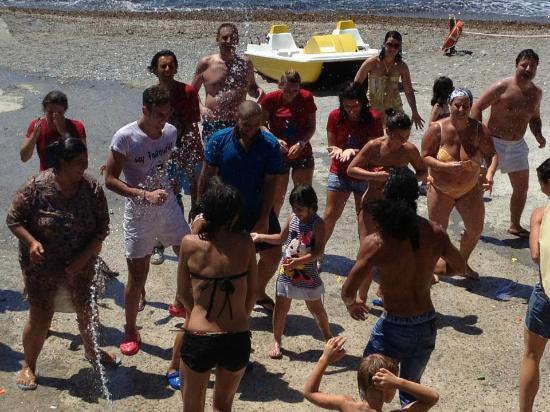 Pisciotta, Italie : zumpa fitness cn il maestro Andres