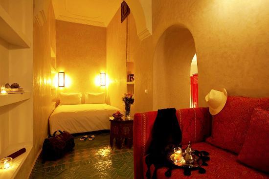 Riad Les Bougainvilliers: Junior suite