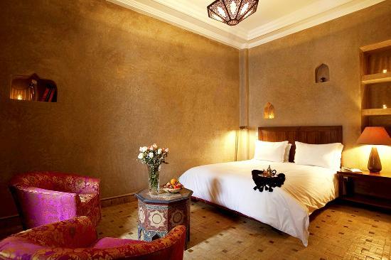 Riad Les Bougainvilliers: Superior room