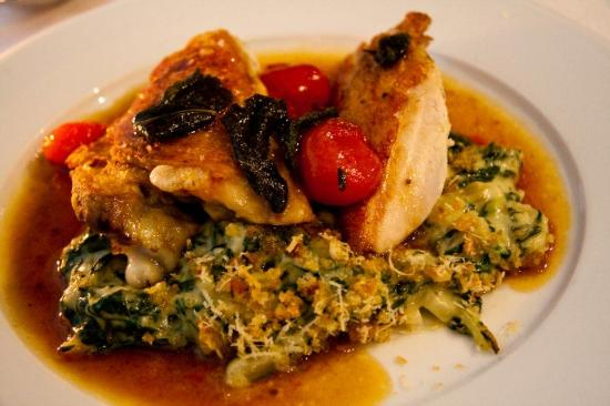 Magdalen : Slow roasted chicken