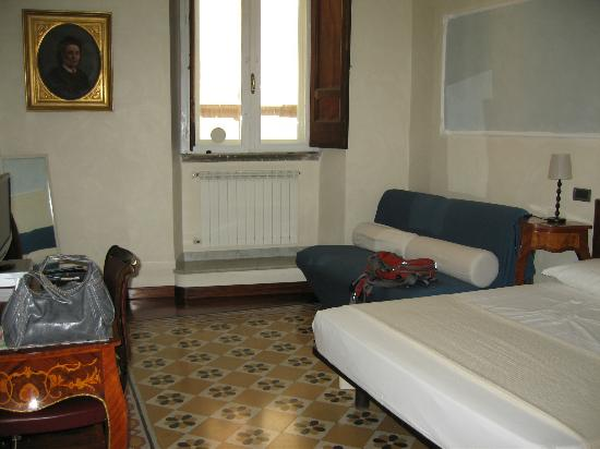 B&B Palazzo del Duca: our room at the Palazzo del Duca
