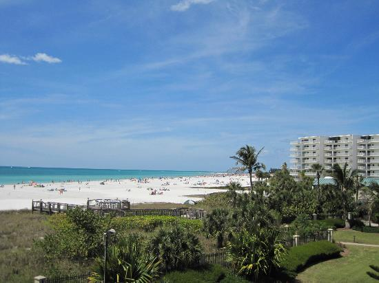 Sarasota Surf and Racquet Club: View from patio