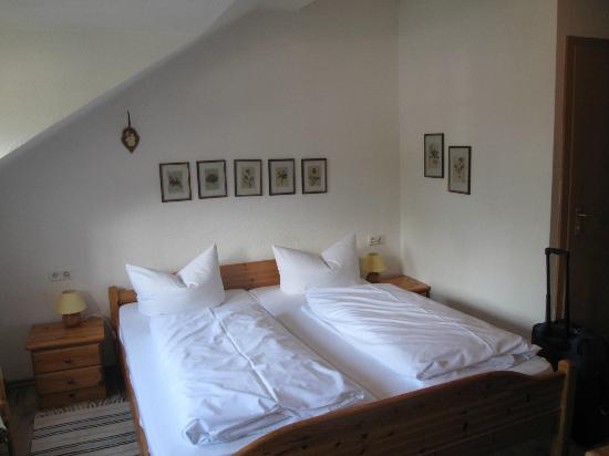 Landhaus Hohe Tannen: Very comfortable beds
