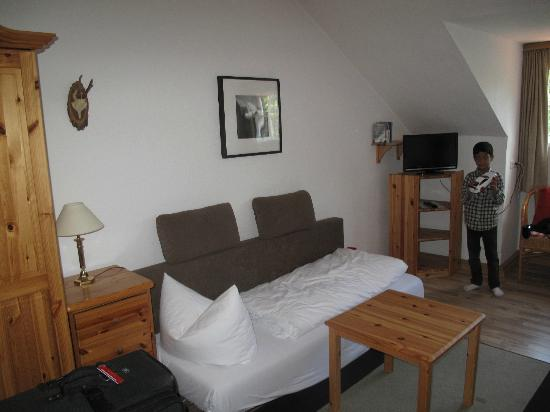 Landhaus Hohe Tannen: Sofa bed