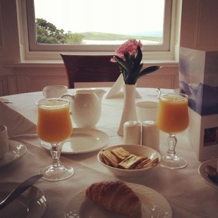 Mulranny Park Hotel: breakfast