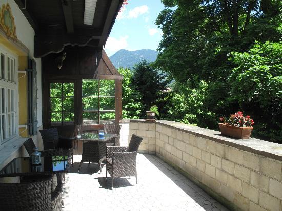 Landhaus Hohe Tannen: Garden Porch