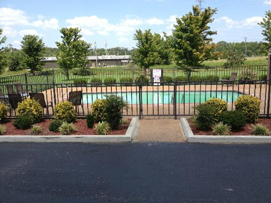 Comfort Inn: Front side Pool
